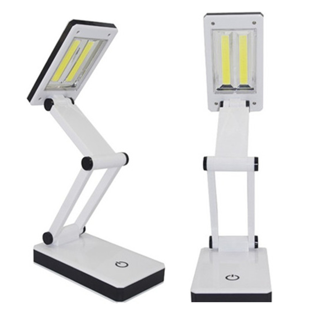 3w Cob Foldable Desk Lamp With Available Usb Function
